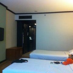 Photo taken at Regency Park Hotel Bangkok by DeivS D. on 2/19/2013