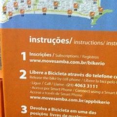 Photo taken at BikeRio - Estação 05 by Igor G. on 4/23/2013