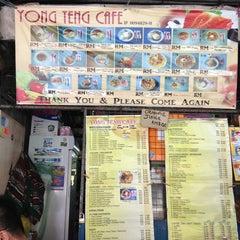 Photo taken at Yong Teng Cafe by Siewcheng on 7/28/2013