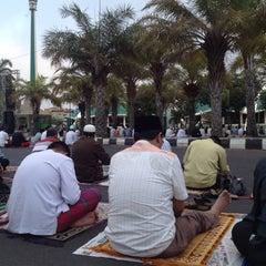 Photo taken at Masjid Jami' Al-Baitul Amien Jember by nofearbyu on 9/23/2015