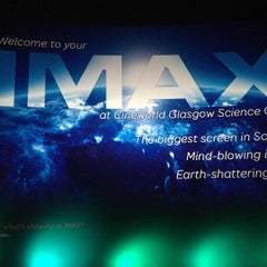 Photo taken at Cineworld IMAX by Enoch T. on 7/17/2015