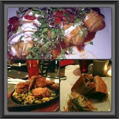 Photo taken at MexiBBQ Kitchen & Draught by Rhea D. on 3/4/2013