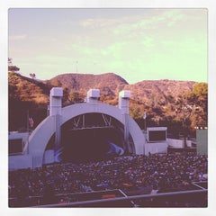 Photo taken at The Hollywood Bowl by Alan H. on 8/4/2013