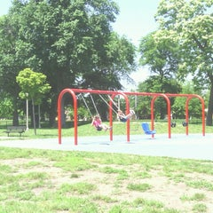 Photo taken at Marquette Park by Nancy F. on 6/14/2013