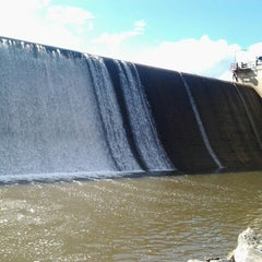 Photo taken at Evergreen Dam by Felipe! on 9/28/2012