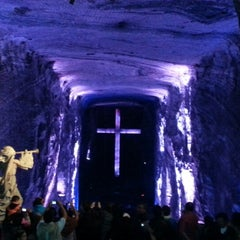 Photo taken at Catedral de Sal de Zipaquirá by Daniela N. on 7/21/2013