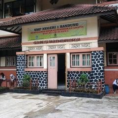 Photo taken at SMP Negeri 1 Bandung by hendri on 4/8/2013