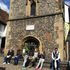 Photo taken at St Albans Clock Tower by Paul W. on 4/11/2015