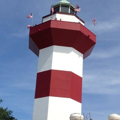 Photo taken at Harbour Town Lighthouse by Bambii-Lyn J. on 5/27/2013