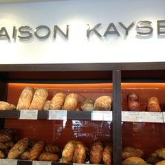 Photo taken at Maison Kayser by Restaurant Fairy on 4/2/2013