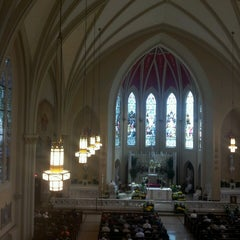 Photo taken at S.S. Peter And Paul Catholic Church by Matthew S. on 4/7/2013