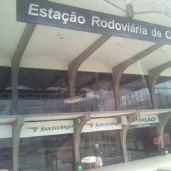 Photo taken at Estação Rodoviária de Criciúma by felipe b. on 3/17/2013