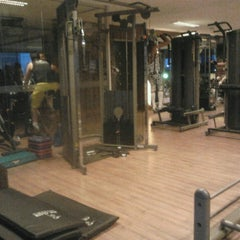 Photo taken at Fit Club Academia by Karine F. on 3/6/2013