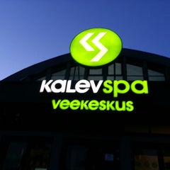 Photo taken at Kalev Spa Hotell & Veekeskus by Paula D. on 8/22/2013