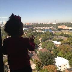 Photo taken at Hilton Houston Plaza/Medical Center by Jessica L. on 11/1/2013