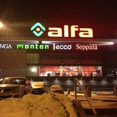 Photo taken at Alfa by Ellina K. on 3/30/2013