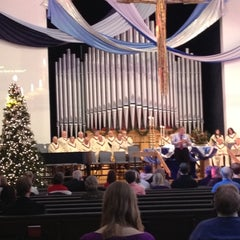 Photo taken at First United Methodist Church of Boulder by Mike G. on 12/2/2012