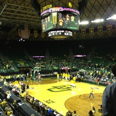 Photo taken at Ferrell Center by Blake T. on 3/23/2013