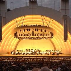 Photo taken at The Hollywood Bowl by Ingrid U. on 7/26/2013