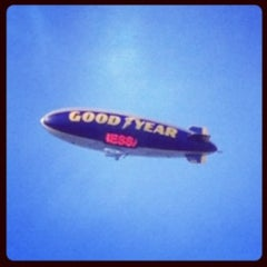 Photo taken at Goodyear Blimp by IDA A. on 10/19/2012