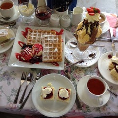 Photo taken at Miss Marple's Tea Room by Travis S. on 10/20/2013