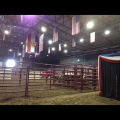 Photo taken at American Royal Complex by Mary on 9/28/2012