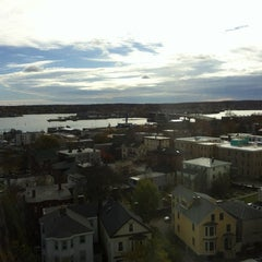 Photo taken at Holiday Inn Portland-By The Bay by Steph G. on 11/3/2012