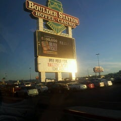 Photo taken at Boulder Station Hotel & Casino by Damla T. on 4/3/2013