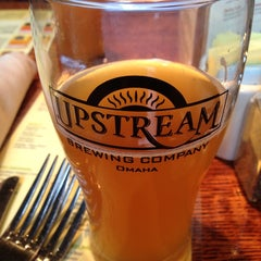 Photo taken at Upstream Brewing Company by Chris V. on 6/20/2013