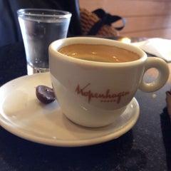 Photo taken at Kopenhagen Café by Miguel on 3/26/2014