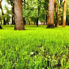Photo taken at Городской парк культуры и отдыха им. М. Горького by Artem V. on 5/23/2013