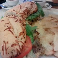 Photo taken at Fran's Café by pedro p. on 3/9/2013