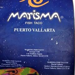Photo taken at Marisma Fish Taco - Vallarta Centro by edgar l. on 3/23/2014