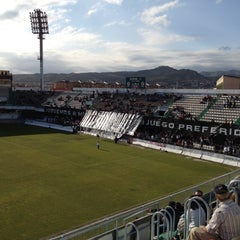 Photo taken at Estadio Municipal Castalia by Migue M. on 4/22/2012