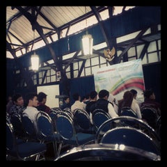 Photo taken at Aula Barat ITB by Sari M. on 5/5/2012