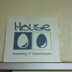 Photo taken at House Comunicação e Marketing by Patricia I. on 10/14/2011