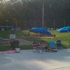 Photo taken at Woodcroft Swim Club by Katie M. on 9/11/2011