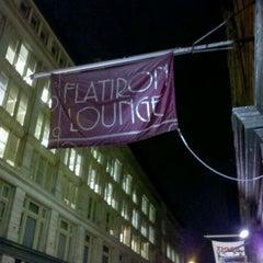 Photo taken at Flatiron Lounge by Donnie D. on 11/17/2011