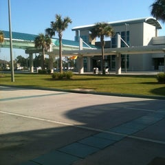 Photo taken at Gulfport-Biloxi International Airport (GPT) by TOFFY T. on 4/14/2012