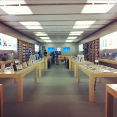 Photo taken at Apple Store, Providence Place by CJ C. on 10/14/2011