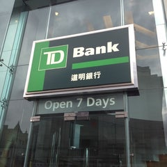 Photo taken at TD Bank by Jerry C. on 1/8/2012