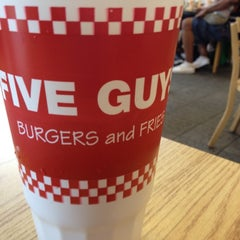 Photo taken at Five Guys by Scott H. on 5/26/2012