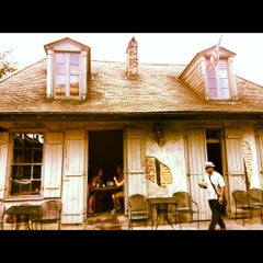 Photo taken at Lafitte's Blacksmith Shop by Elisha P. on 9/7/2012