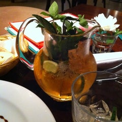 Photo taken at Río Café by Vik A. on 10/21/2011