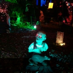 Photo taken at Heggs' House of Horrors by Dan S. on 10/31/2011