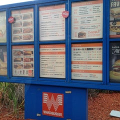 Photo taken at Whataburger by Mallory B. on 2/10/2012