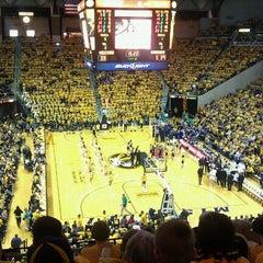 Photo taken at Mizzou Arena by Teri G. on 3/18/2011