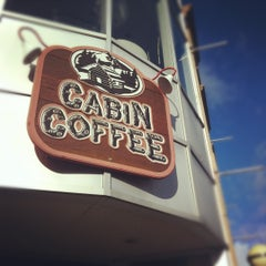 Photo taken at Cabin Coffee by Alicia T. on 11/19/2011