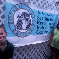 Photo taken at Karen Beasly Sea Turtle Rescue and Rehabilitation Center by melinda c. on 7/20/2012