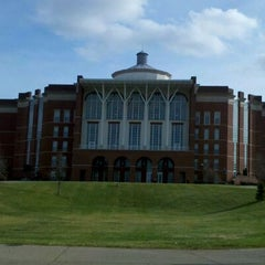 Photo taken at William T. Young Library by Reid S. on 12/14/2011